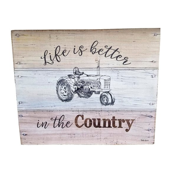 Other - 🆕Life is Better in the Country Wood Wall Sign